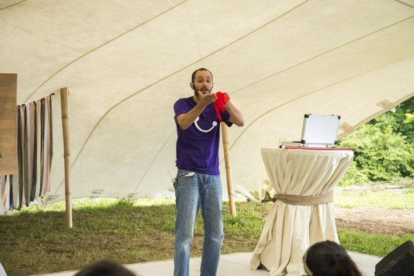 Carlos López of Magicians Without Borders in Do Costa Rica