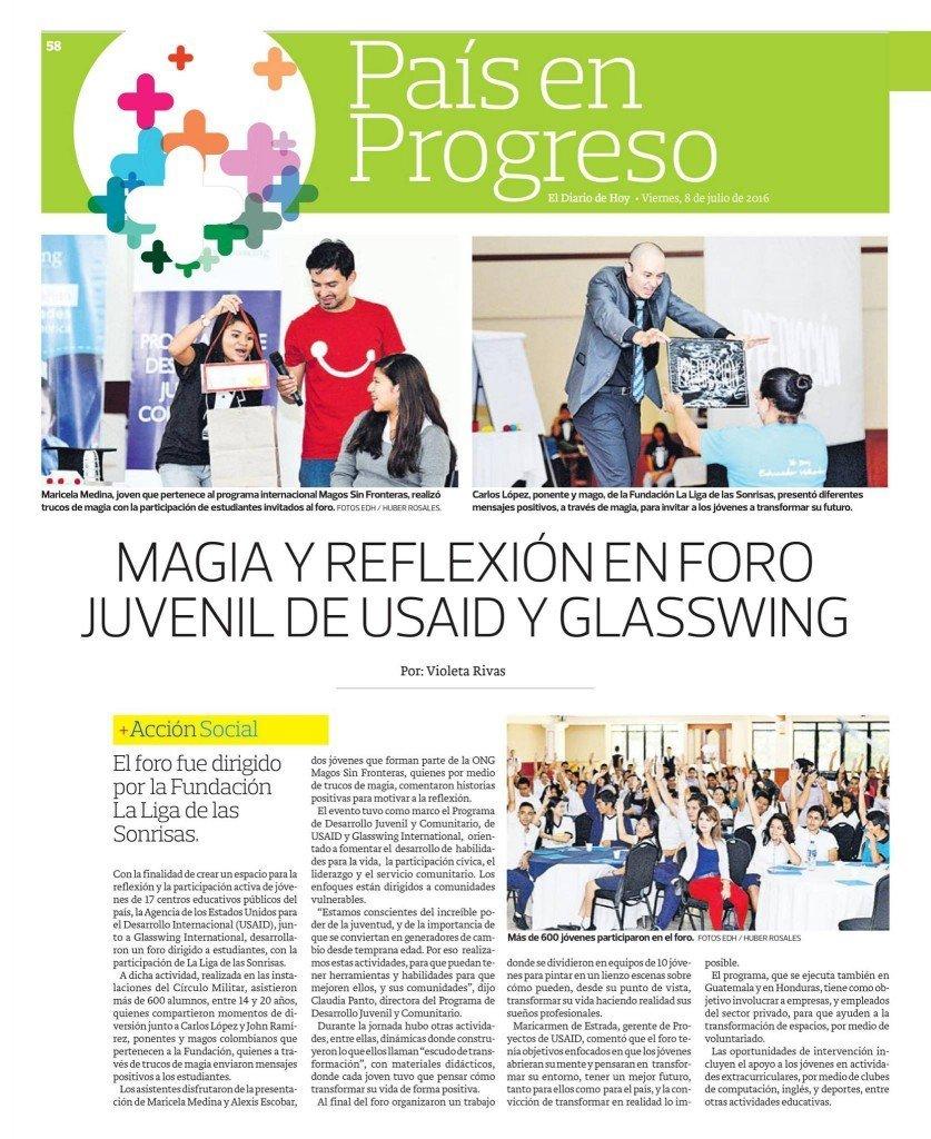 Periodico El diario de hoy El Salvador