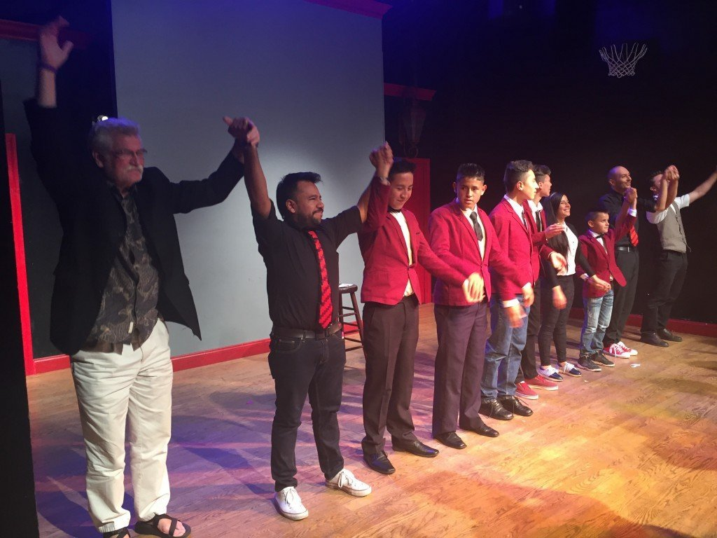 Standing ovation for Magicians Without Borders at the PIT theater in NYC