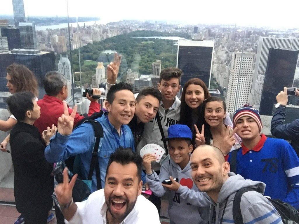 Magicians Without Borders at Top of the Rock in NYC
