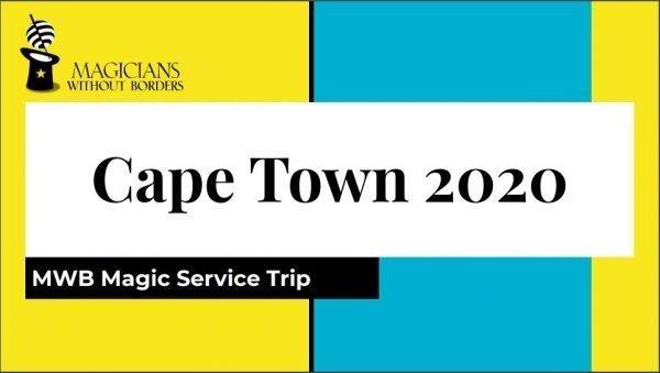 MWB Magic Service Trip Cape Town South Africa