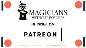 Magicians Without Borders in now on patreon