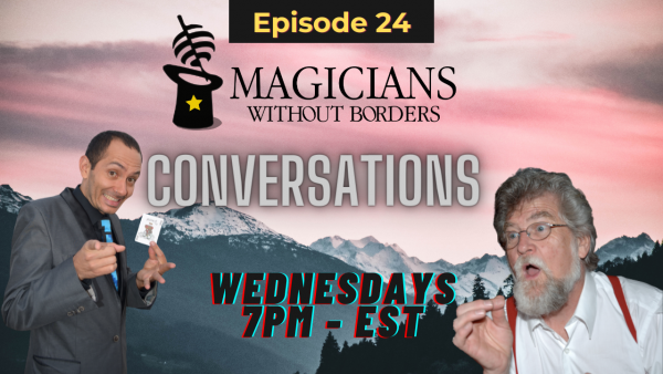MWB Conversations Episode 24: Changing the state of refugees with humanitarian magic