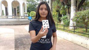 Niña maga our student Kimberly in El Salvador national news